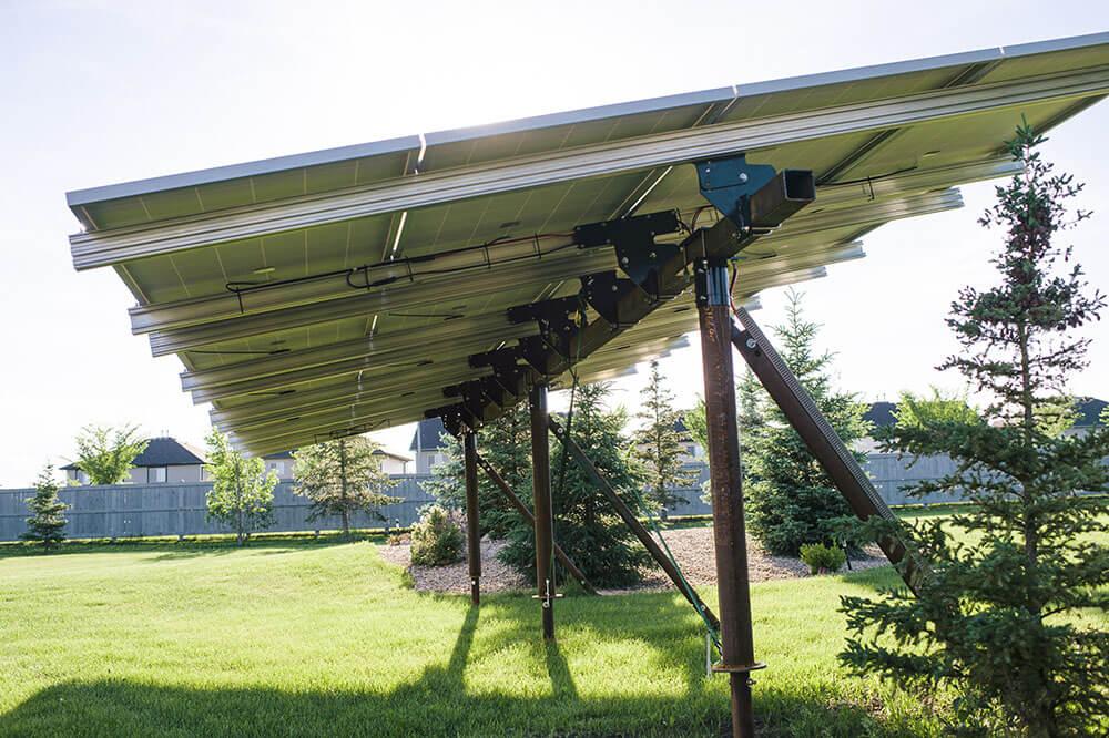 Screw Piles for Solar Panels